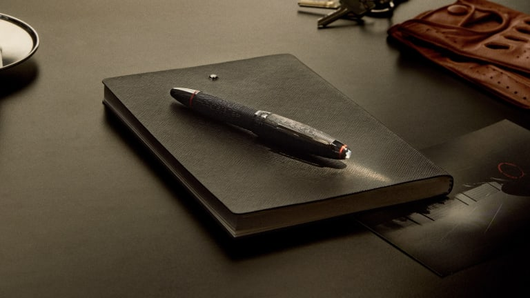 Montblanc and Pirelli release a limited edition Meisterstück