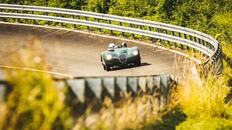 Jaguar delivers more details and visuals for the C-Type Continuation
