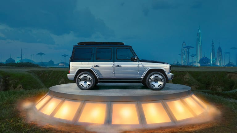 Mercedes unleashes its all-electric army with a new G-Class concept, a new Maybach, EQE, and more