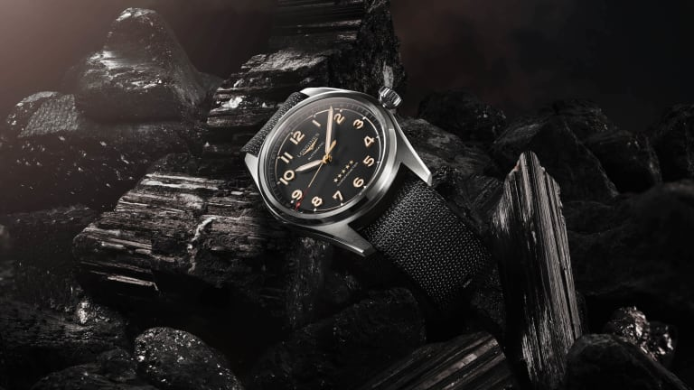 Longines introduces a titanium version of its Spirit watch