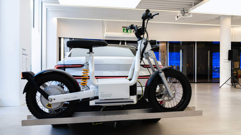 You can now spec a Polestar 2 with a Cake Makka electric moped