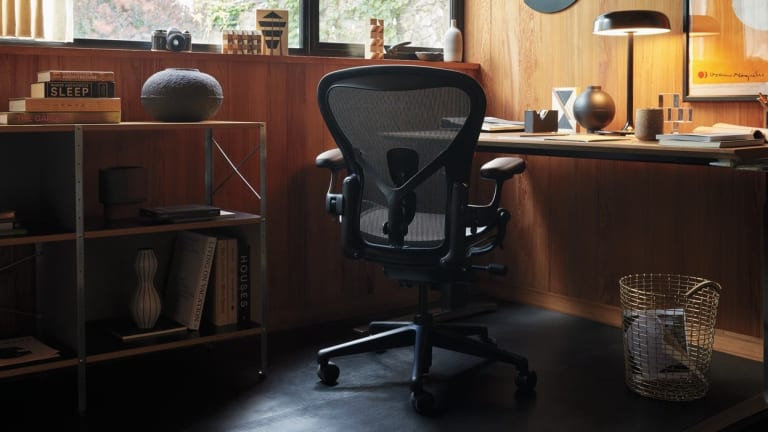 Herman Miller is updating one of the most famous office chairs with ocean-bound plastic