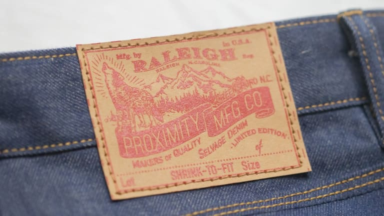 Raleigh Denim is slowly bringing the legendary Cone Mills White Oak plant back to life