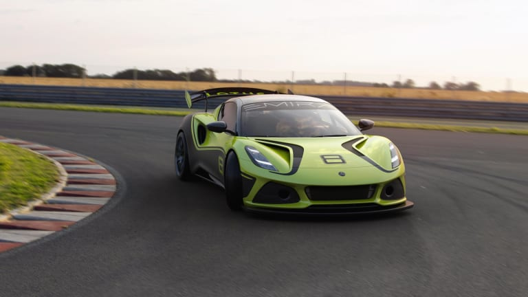 Lotus reveals its track-ready Emira GT4