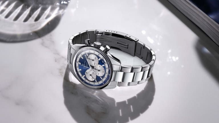 Zenith celebrates the opening of its latest boutique with a new Chronomaster