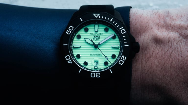Tag Heuer introduces a new version of the Night Diver