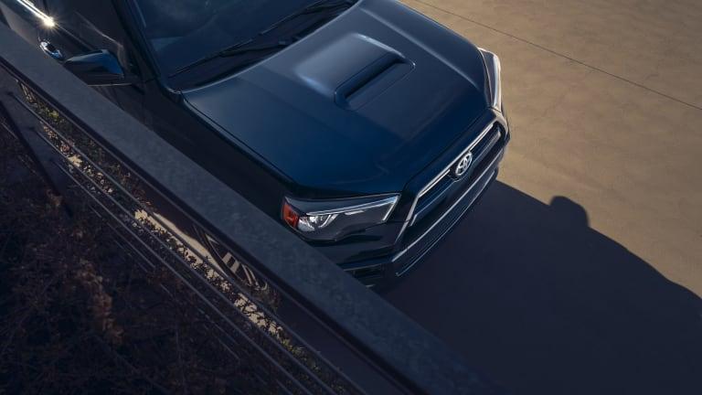 Toyota's new 4Runner TRD Sport enhances the SUV's on-road comfort