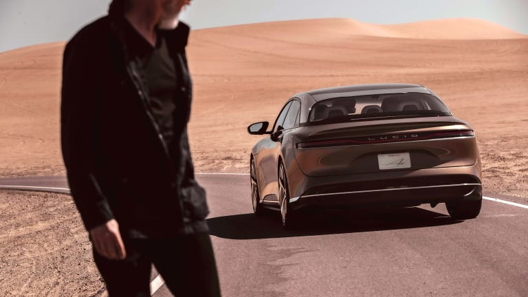 The Lucid Air has officially been EPA-rated at 520 miles of range
