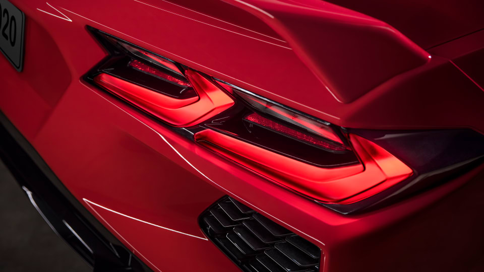 Chevrolet reveals the radically redesigned eighth-generation Corvette