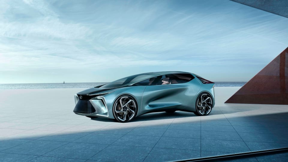 Lexus previews its electric future with the LF-30 concept