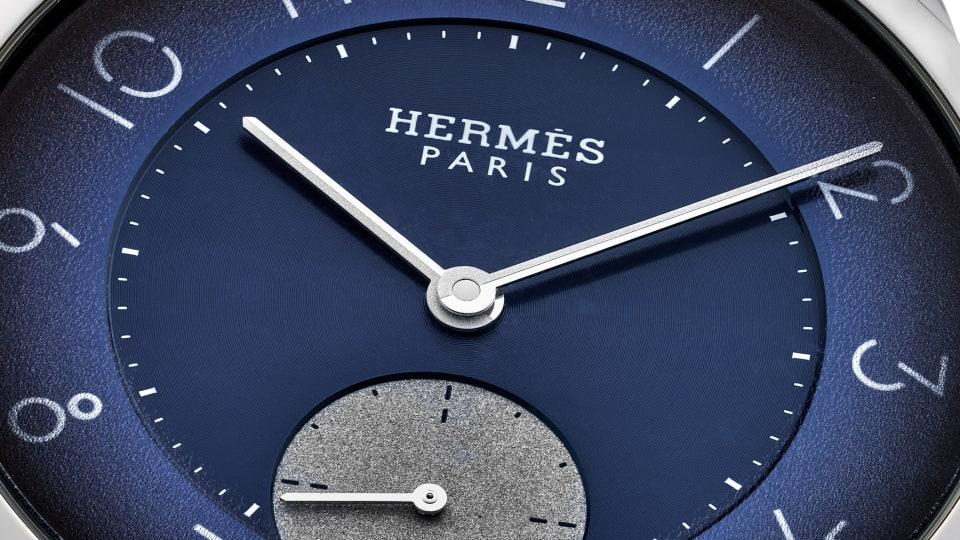 Hodinkee debuts its limited edition Slim d'Hermès