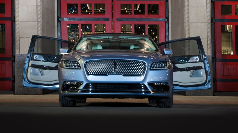 Lincoln is bringing back the suicide doors for the 80th anniversary of the Continental