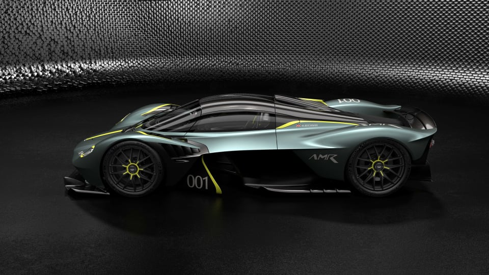 Aston Martin reveals an AMR Performance Pack and an extensive options list for the Valkyrie hypercar