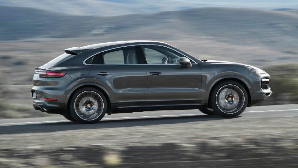 Porsche reveals the Cayenne Coupe