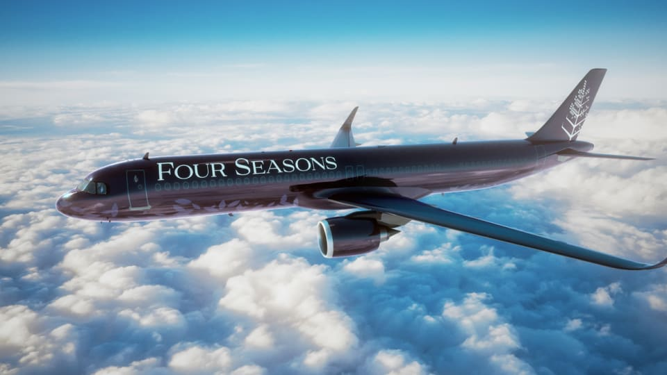 The Four Seasons debuts their new private jet
