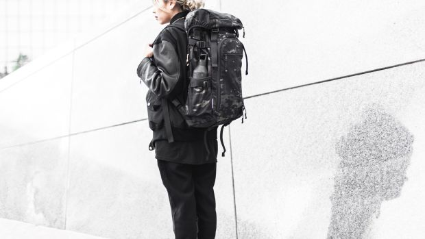 DSPTCH Black Camo Bags