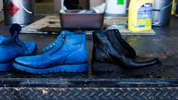 Haven x Viberg Overdyed Service Boots