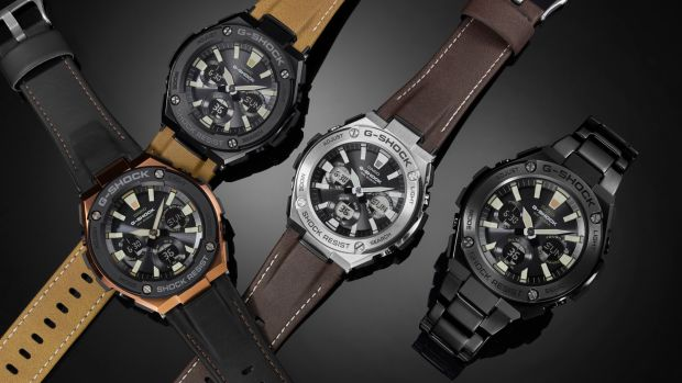 G-Shock G-Steel Tough Leather