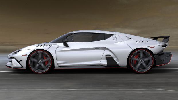 Italdesign Automobili Speciali Geneva Car