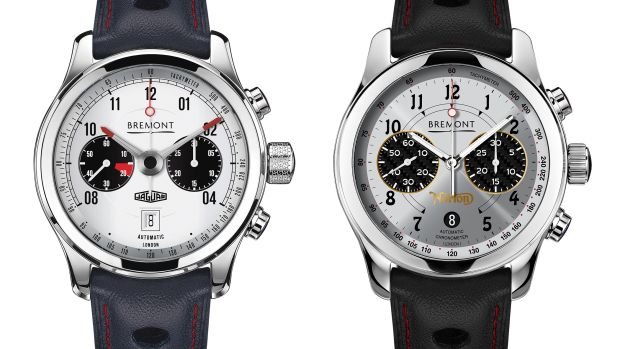Bremont Jaguar and Norton