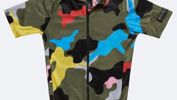 Search and State Camo Jersey