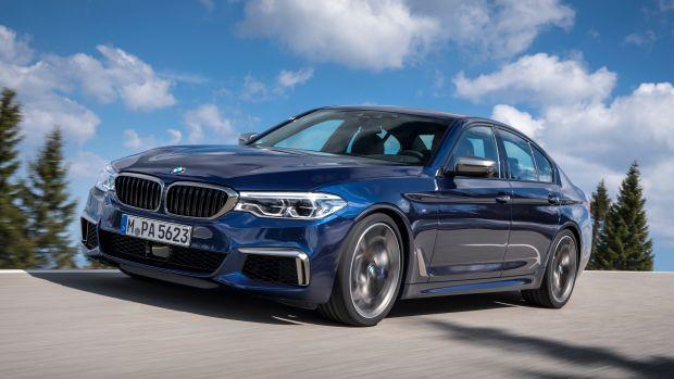 2018 BMW 550i