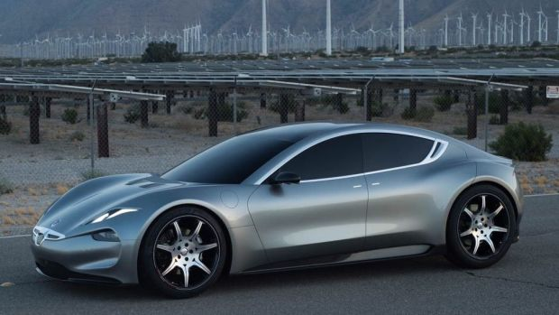 Fisker EMotion production version