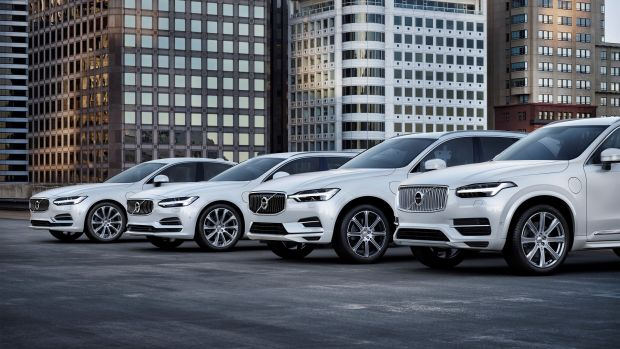 Volvo goes electric in 2019