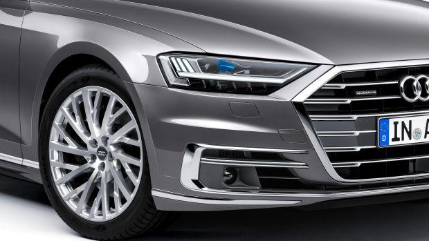 Audi A8 Closeup