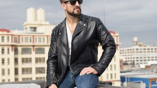 Jane Motorcycles Cardinal Motors Wythe Leather Jacket