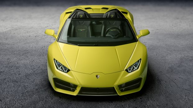 Lamborghini RWD Spyder Front