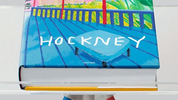 David Hockney Taschen with Marc Newson stand