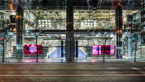 adidas NYC Flagship 5th Ave Exterior