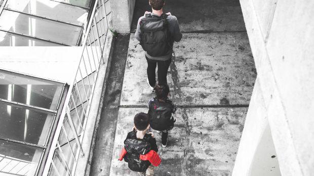 DSPTCH Parent Kid Bag Family Shot