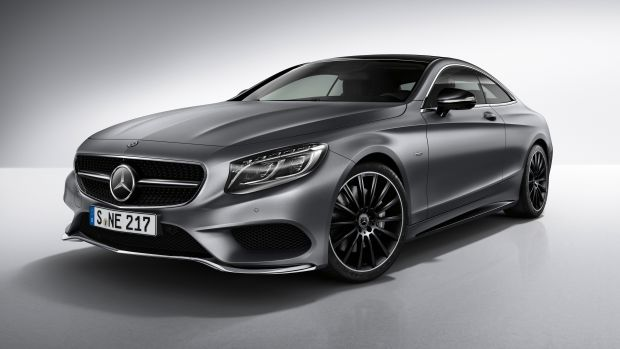 Mercedes S-Coupe Night Edition Profile