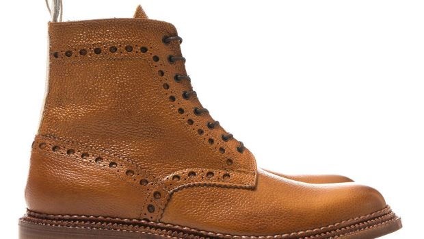 Neighborhood x Grenson Brogue Boots