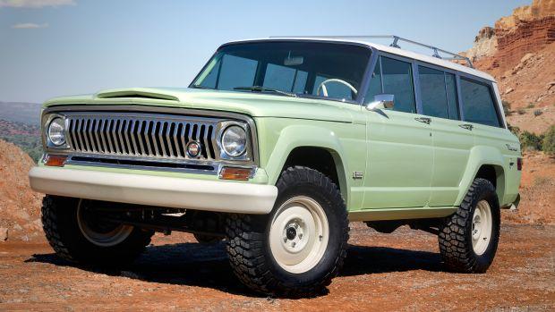 Jeep Moab Easter Safari Wagoneer Roadtrip