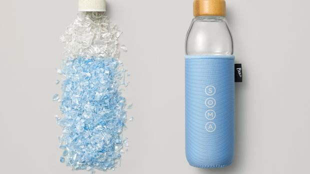 Soma X Parley Water Bottle