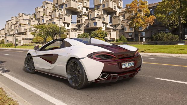 McLaren 570S Spider MSO Canada Commission