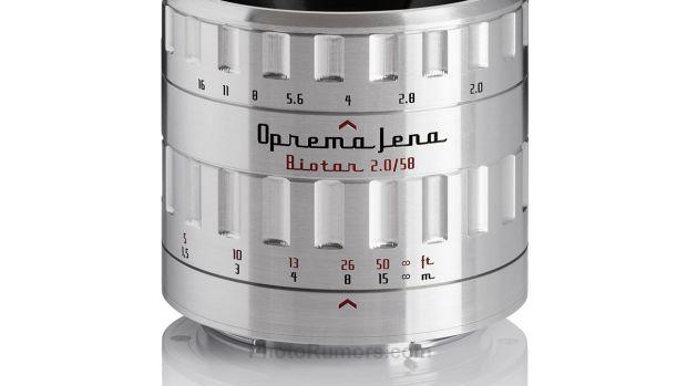 Oprema Jena Biotar 58mm