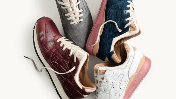 J.Crew and Asics for Packer