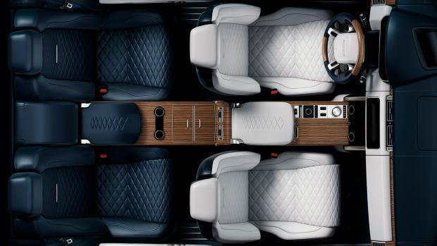 Land Rover SV Coupe Teaser