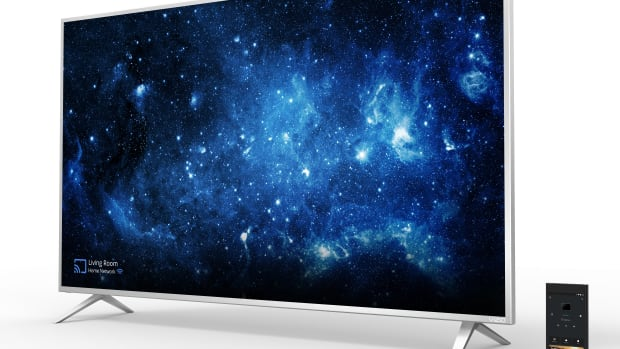SmartCast P-Series Ultra HD High Dynamic Range Home Theater Display, w_tablet remote_HERO.jpg
