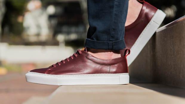 beckett simonon burgundy sneakers 1.jpg