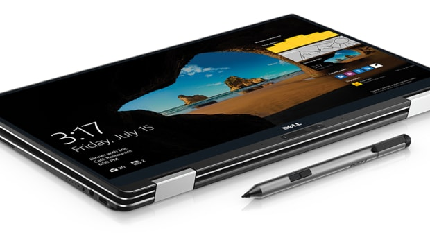 Dell XPS 13 2 in 1 Folded Flat