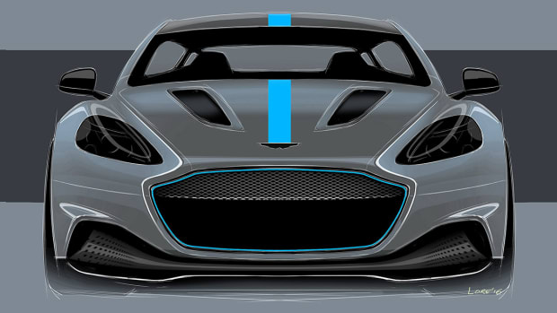 Aston Martin Rapide Elecrtic