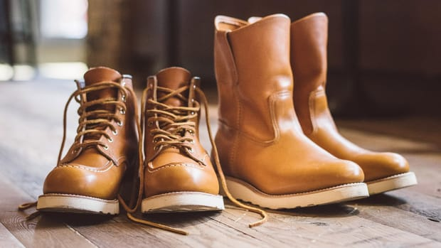 Red Wing Irish Setter Gold Russet Sequoia
