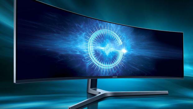 "Samsung 49"" QLED Display"