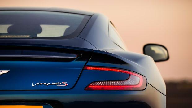 Aston Martin Vanquish S Rear Closeup