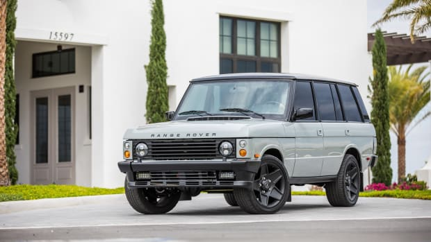 East Coast Defender Range Rover Classic Project Alpha